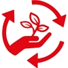 Symbol for sustainability
