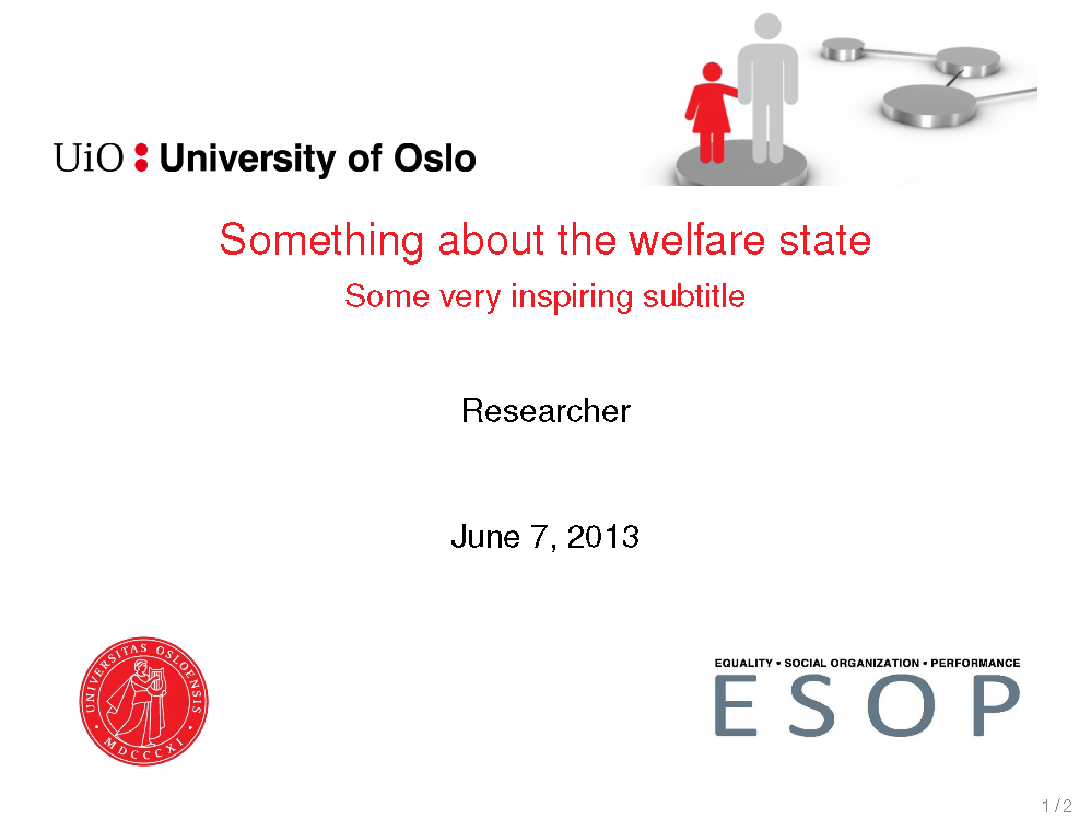esop presentation template latex for employees university of oslo. Black Bedroom Furniture Sets. Home Design Ideas