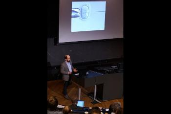 The convergence environment Epigenetics and bioethics of human embryonic development – the clinical perspectives Professor II, Péter Fedorcsák, Institute of Clinical Medicine, Faculty of Medicine, UiO, and Department of Reproductive Medicine, OUS Watch his presentation Photo: UiO:Life Science, Terje Heiestad