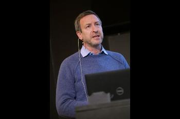 The convergence environment Organ on a chip and nano-devices (CHIP) – background and the biological perspectives Professor Stefan Krauss, Department of Molecular Medicine, Institute of Basic Medical Sciences, Faculty of Medicine, UiO, and Oslo University Hospital (OUS) Watch his presentation Photo: UiO:Life Science, Terje Heiestad