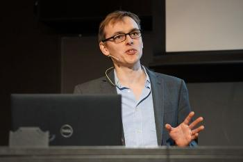 Predicting cancer evolution  Professor Trevor Graham, Barts Cancer Institute UK Watch his presentation Photo: UiO:Life Science, Terje Heiestad