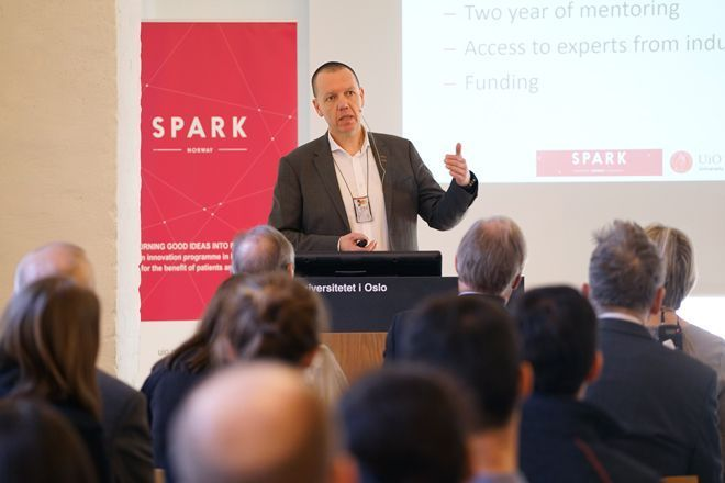 The plans for SPARK Norway Dr. Morten Egeberg, administrative leader of UiO:Life Science and founder of SPARK Norway Watch his presentation.