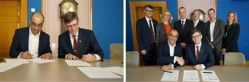 Exciting things happened also before the official conference programme. On 11 February before the main event, UiO and Bayer signed an intentional agreement on student innovation and career development. Read more about the contract (in Norwegian).