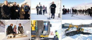 Prime Minister Erna Solberg and Minister of Research and Higher Education Iselin Nybø visited UiO and building contractor Statsbygg 8 February to cut first sod for the new life science building at UiO.  Read about the ceremony (in Norwegian). Watch video from the ceremony (in Norwegian). Read more about the life science building in Norwegian or English.