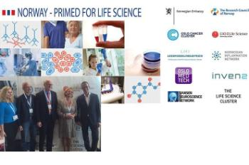 In September we co-hosted the Norwegian–Swedish networking at the embassy in Stockholm and had a large stand at Nordic Life Science Days (NLSDays) together with Norwegian life sciences clusters and organizations. Read more about the events (in Norwegian).