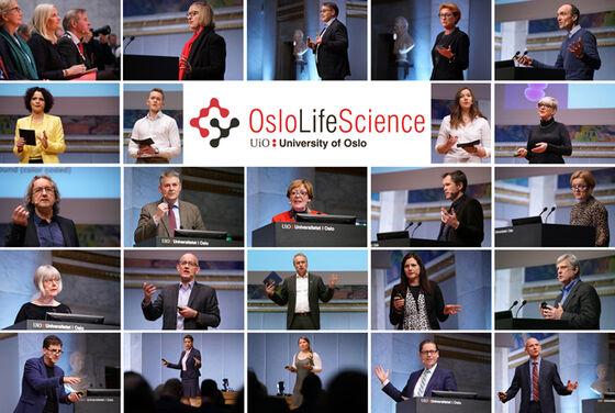 Kollasj innledere Oslo Life Science 2017