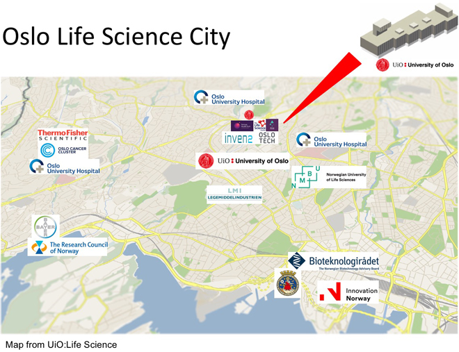 The New Life Science Building University Of Oslo - Norway universities map