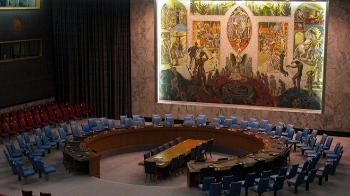 Picture of the room the UN Security Council use in New York