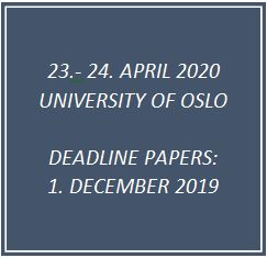Kunngjøring deadline call for papers. Tekst.