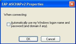 Mengatasi validating identity wifi xp