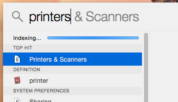 Set up printer queue for printer without a card reader from