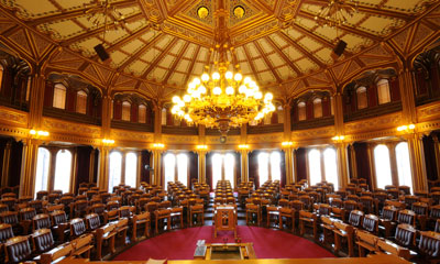 Picture of the Norwegian Parliament