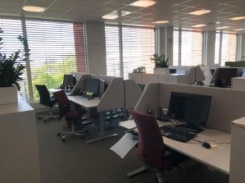 Bilde av kontorlandskap i Domus Juridica
