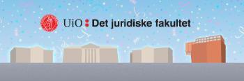 Banner, illustrasjon med de fire sentrumsbyggene
