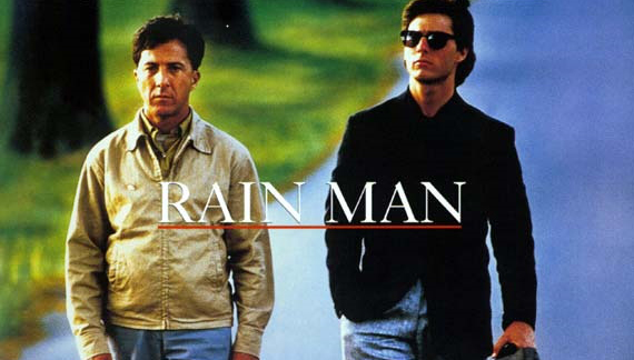 Cover Rain man med Tom Cruise og Dustin Hoffman