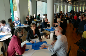 Researchers speed dating.
