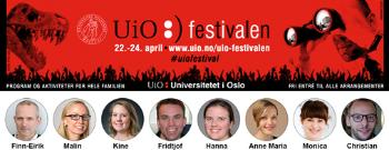 The researchers who will talk about life sciences at the UiO Festival