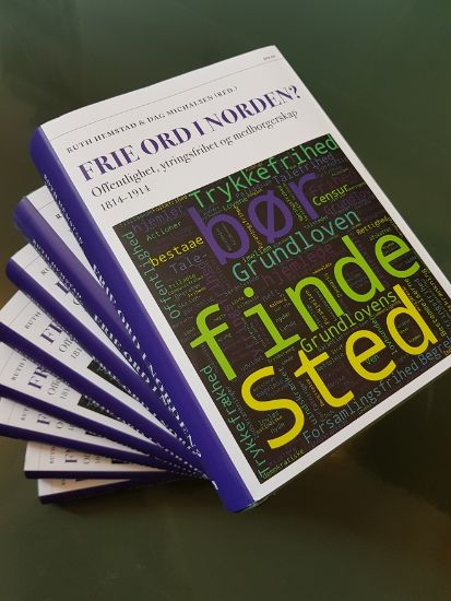 Picture of several samples of the book Frie Ord i Norden