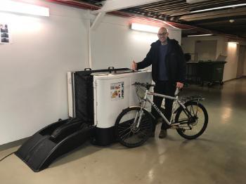 Bildet kan inneholde: sykkeltilbehør, sykkel, kjøretøy, sykkelhjul.