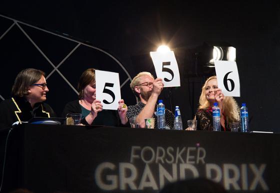 Dommere på fjorårets Forsker Grand Prix