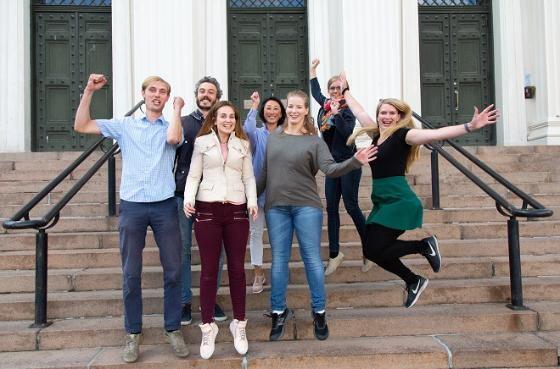 Bilde av årets deltakere i Forsker Grand Prix