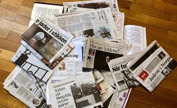 Aviser om norsk okkupasjonshistorie