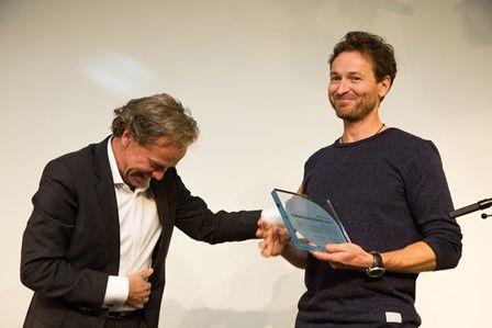 UiO-forsker Henrik Svensen mottar Forskningsrådets formidlingspris i 2017.