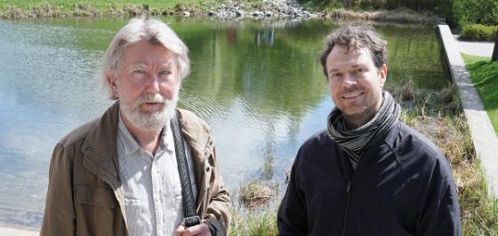 Bilde av deltakerne i podkasten - Ivar Frønes og Henrik Zachrisson.Foto: UiO