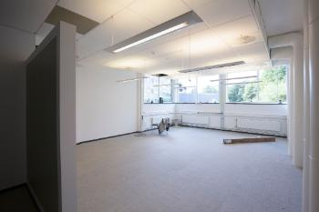 Before RITMO could move in, the premises were refurbished. This is going to be a shared office for PhDs and Postdoc.s.