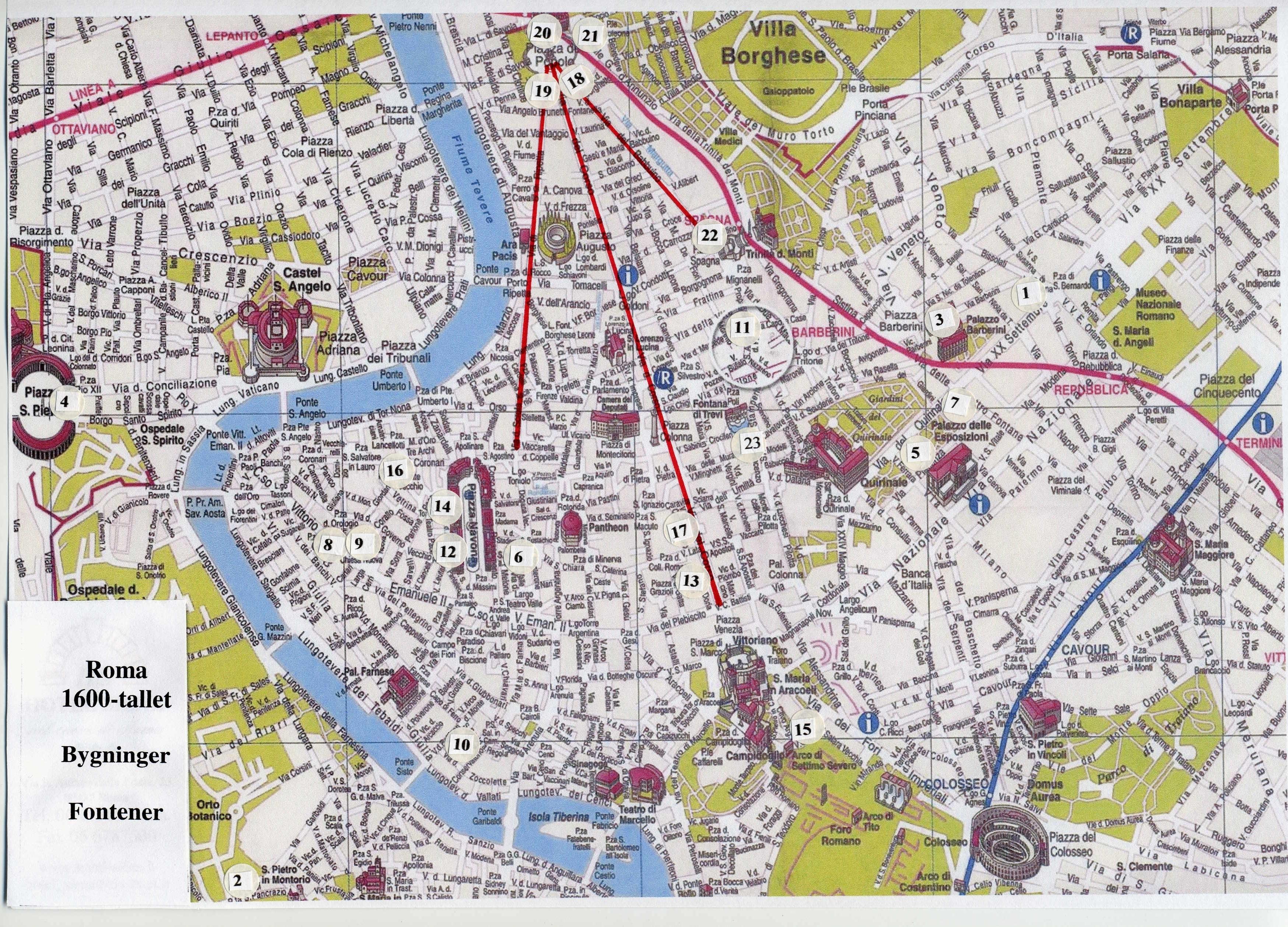 kart over roma Semesterside for KUN1040   Høst 2007   Universitetet i Oslo kart over roma