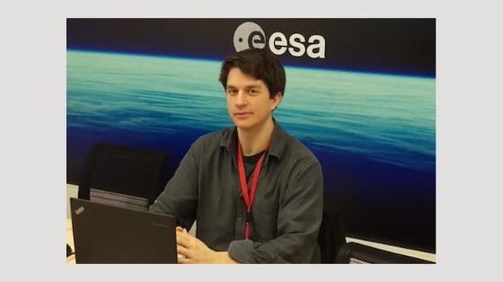 Eirik Gjerløw på ESA