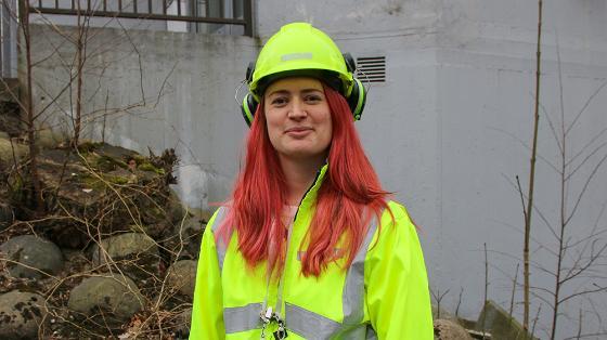 Bilde av Beate Nilland, miljøgeolog i Rambøll, hvor jobber geologer, hvorfor studere geologi