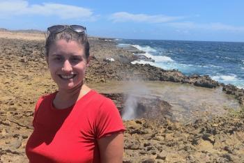 utdannelse, geologi, studier, equinor, myrsini på stranda