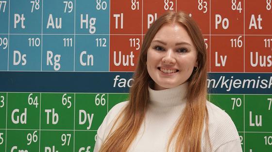 Maria foran det periodiske system, kjemi, industri, bioteknologi