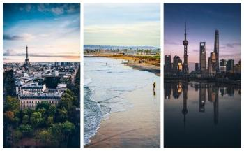 Bildet kan inneholde: fotografi, himmel, landemerke, by, cityscape.