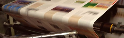 The University Print Centre prints posters and banners from A2 format up to 1.5 x 20 metres.